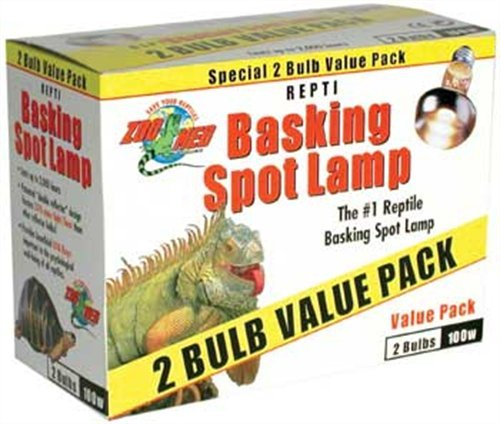 Zoo Med Reptile Basking Spot Lamp 75 Watts 2
