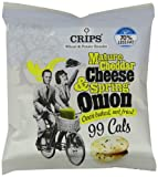 Crips Mature Cheddar Cheese and Spring Onion 22.5 g pack of 16