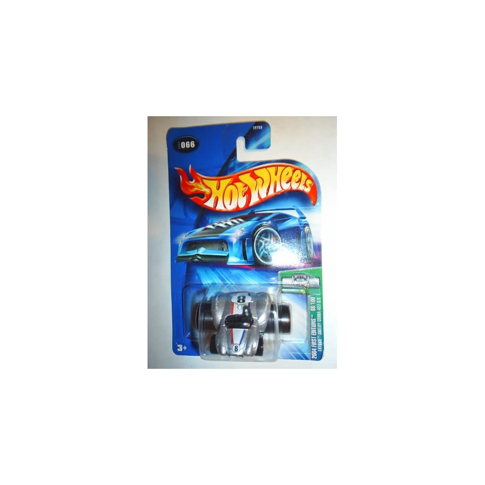 Mattel Hot Wheels 2004 First Editions 164 Scale Silver Fatbax Shelby Cobra 427 S/C Die Cast Car #66