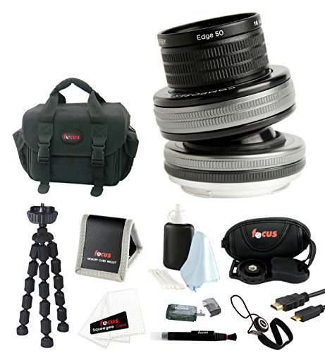 Lensbaby Composer Pro II with Sweet 35 Optic for Canon EF with Accessory Bundle (Lensbaby Sweet 35 For Canon compare prices)