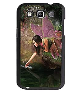 ColourCraft Lovely Angel Design Back Case Cover for SAMSUNG GALAXY GRAND QUATTRO I8552 / WIN I8550