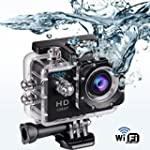 Indigi� WiFi Action Cam Sport DV Outd...