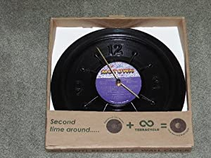 "Motown Vinyl Record 12"" Wall Clock"