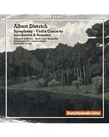 Albert Dietrich: Symphony Op. 20; Violin Concerto
