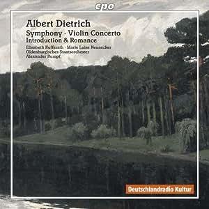 """Symphony; Violin Concerto"""