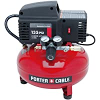 Porter Cable PCFP02003 3.5-Gallon 135 PSI Pancake Compressor (Red)