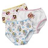 Toddler Girls' 3 Pack Palace Pets Underwear Panties