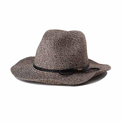 OKDRESS -  Cappello da sole  - Donna Dark Coffe Taglia unica