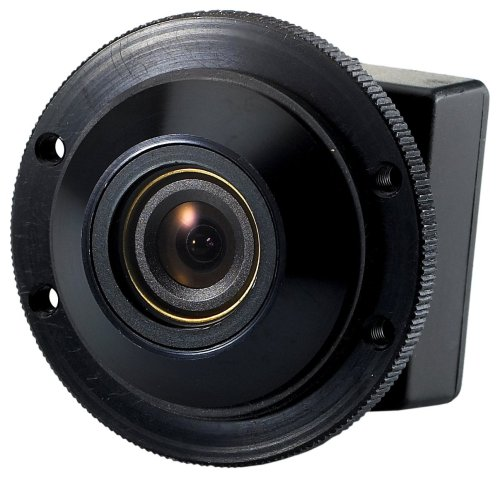 Boyo VTK100N Keyhole Type Camera, Non-Reverse for Front Viewing (Black)