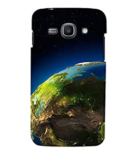 SPACE VIEW OF THE PLANET EARTH 3D Hard Polycarbonate Designer Back Case Cover for Samsung Galaxy Ace 3 :: Samsung Galaxy Ace 3 S7272