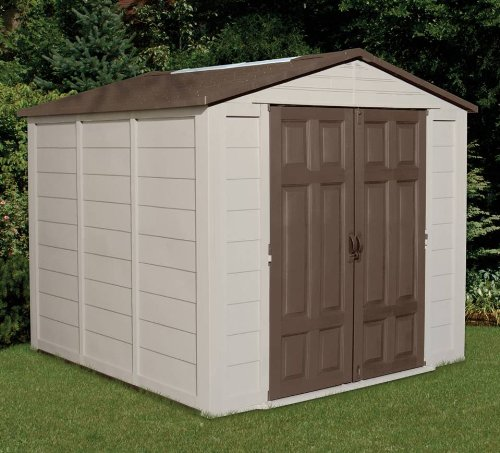 Lifetime sheds suncast outdoor storage building 7 5 x 7 for Cheap outdoor sheds for sale