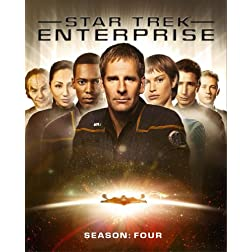 Star Trek: Enterprise - Complete Fourth Season [Blu-ray]