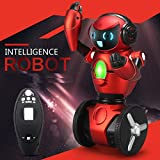 Toys Bhoomi Advanced Lightweight 2.4G Intelligent Self-Balancing G-Sensor RC Robot With Bright LED Light & Wheelbarrow...