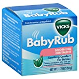 Vicks Ointment, Soothing 1.76 oz (50 g)