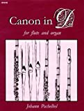 img - for Canon in D for Flute and Organ (Woodwind Solos & Collections, Flute, Organ) book / textbook / text book