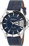 #7: Bollexo Analogue Blue Dial Men's And Boy's Watch-Gr-5040 Blue Matrix Collection
