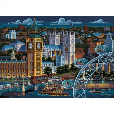 Cheap MasterPieces London 1000 Piece Jigsaw Puzzle (B003244XY0)