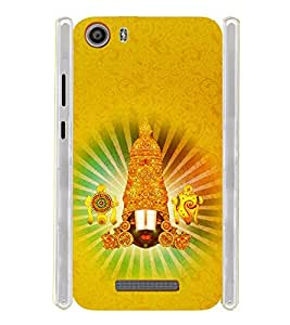 Lord Balaji Soft Silicon Rubberized Back Case Cover for Micromax Canvas Spark 2 Q334
