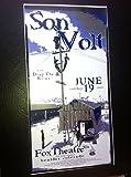 Son Volt Jay Farrar Uncle Tupelo Fox Theater Original Concert Tour Poster