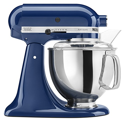 Great Deal! KitchenAid KSM150PSBW Artisan Series 5-Qt. Stand Mixer with Pouring Shield - Blue Willow