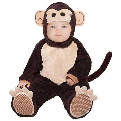 Baby Monkey Halloween Costume, Size 6-12 Months