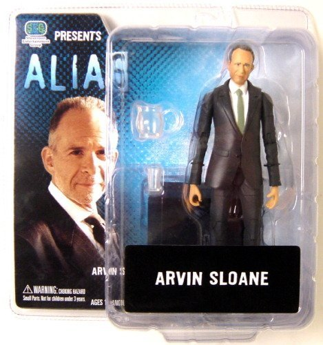 """7"""" Arvin Sloane Action Figure - Alias from ABC-TV by Stevenson Entertainment Group"""