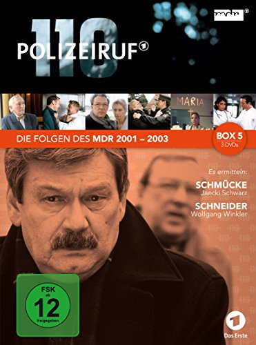 Polizeiruf 110 - MDR Box 5 [3 DVDs]