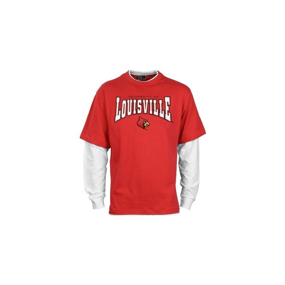 Louisville Cardinals Red Walk On Long Sleeve T shirt