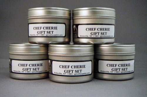 BBQ Spice Blend Gift Set-contains 5 2 Oz. Tins