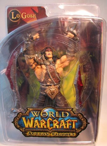 DC Unlimited World of Warcraft Series 5: Alliance Hero: Lo'Gosh Action Figure by DC Comics