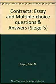 contracts multiple choice questions Multiple choice questions click on the tabs below to view the content for each chapter.