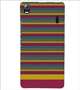 LENNOVO A7000 TURBO PATTERN Designer Back Cover Case By PRINTSWAG