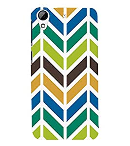 TOUCHNER (TN) Arow Pattern Back Case Cover for HTC Desire 728g Dual::HTC Desire 728G::HTC Desire 728