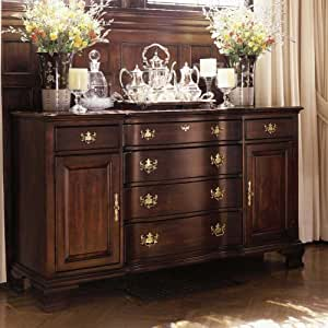 wood dining room buffet by kincaid hand. Black Bedroom Furniture Sets. Home Design Ideas