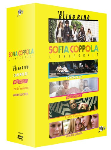 Sofia Coppola, l'intégrale - Coffret 5 films : The Bling Ring + Somewhere + Marie-Antoinette + Lost in Translation + The Virgin Suicides