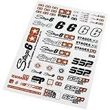 Aufkleberset STAGE6 SSP - kleine Sticker