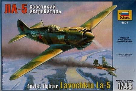 Zvezda - Z4803 - Maquette - Lavochkin LA5 - Echelle 1:48