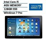 Samsung Series 7 11.6' Slate Tablet with Docking (Intel Core i5 Processor, 4GB RAM, 128GB SSD, HDMI, Dual Webcam, Bluetooth, Windows 7 Professional)(Certified Refurbished)