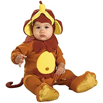 Infant Size Monkey See, Monkey Doo with Banana Roper
