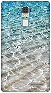 The Racoon Lean Crystal Sea hard plastic printed back case / cover for Oppo R7 Plus