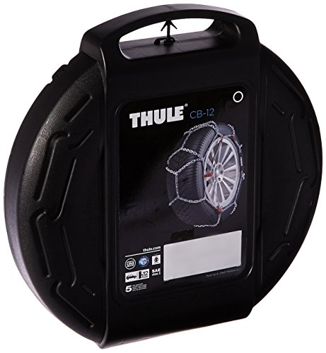 Thule 12mm CB12 Passenger Car Snow Chain, Size 090 (Sold in pairs) (Oasis Thule compare prices)