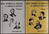 img - for Men, Women and Issues in American History [Volumes I and II] (The Dorsey Series in History) book / textbook / text book