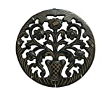 Pindia Wooden Hand Carved Big Wall Hanging Key Hanger