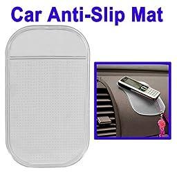 Car Anti-Slip Mat Super Sticky Pad for Phone / GPS / MP4 / MP3 (Transparent)