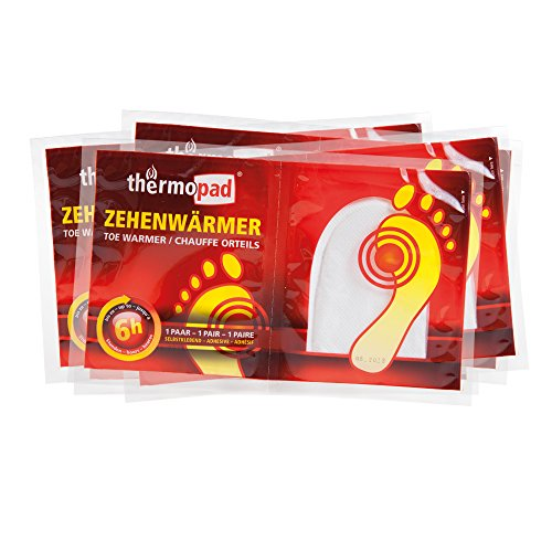 Thermopad Zehenwärmer 5er-Pack Fußwärmer - 5 Stunden warme Füße