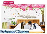 Princess' Dream -- Huge Sakura Flower Cherry Blossom Tree Wall Sticker Decal 90