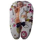 Baby Nurse-Cojín de lactancia-Cojín de embarazo-con bolsa de transporte-desenfundable