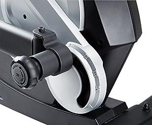 MAXXUS CROSSTRAINER CX 7.4, Ellipsentrainer mit 5-fach Schrittlängenverstellung! Flache, elliptische Bewegung wie beim Laufen. Elektr. gesteuertes Magnetbremssystem, Trainingsprogramme, HRC-Programm, Schienensystem für sanften Lauf. Auf unterschiedliche