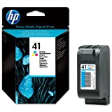 Brand New. Hewlett Packard [HP] No. 41A Inkjet Cartridge 40. 5ml Tri-colour Ref 51641AE