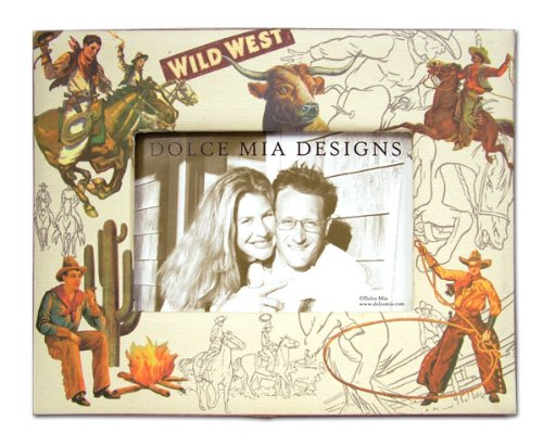 Dolce Mia Western Sew Vintage Picture Frame - 4x6 - 1